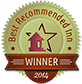 2014 Best Recommended Inn Winner