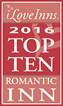 ILoveInns 2016 Top Ten Romantic Inn Logo