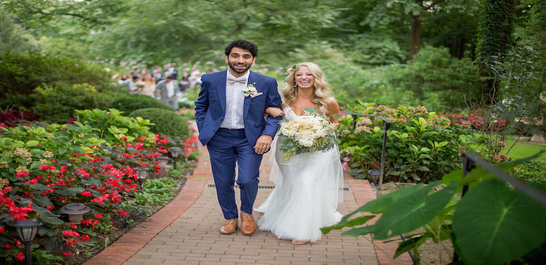 gramercy mansion garden ceremony