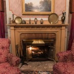Ambassador's Room | Baltimore bed and breakfast room | fireplace