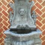 Cassatt Suite patio fountain