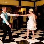 Checkerboard dance floor, Procopio Photography