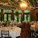 Atrium reception, simple elegance