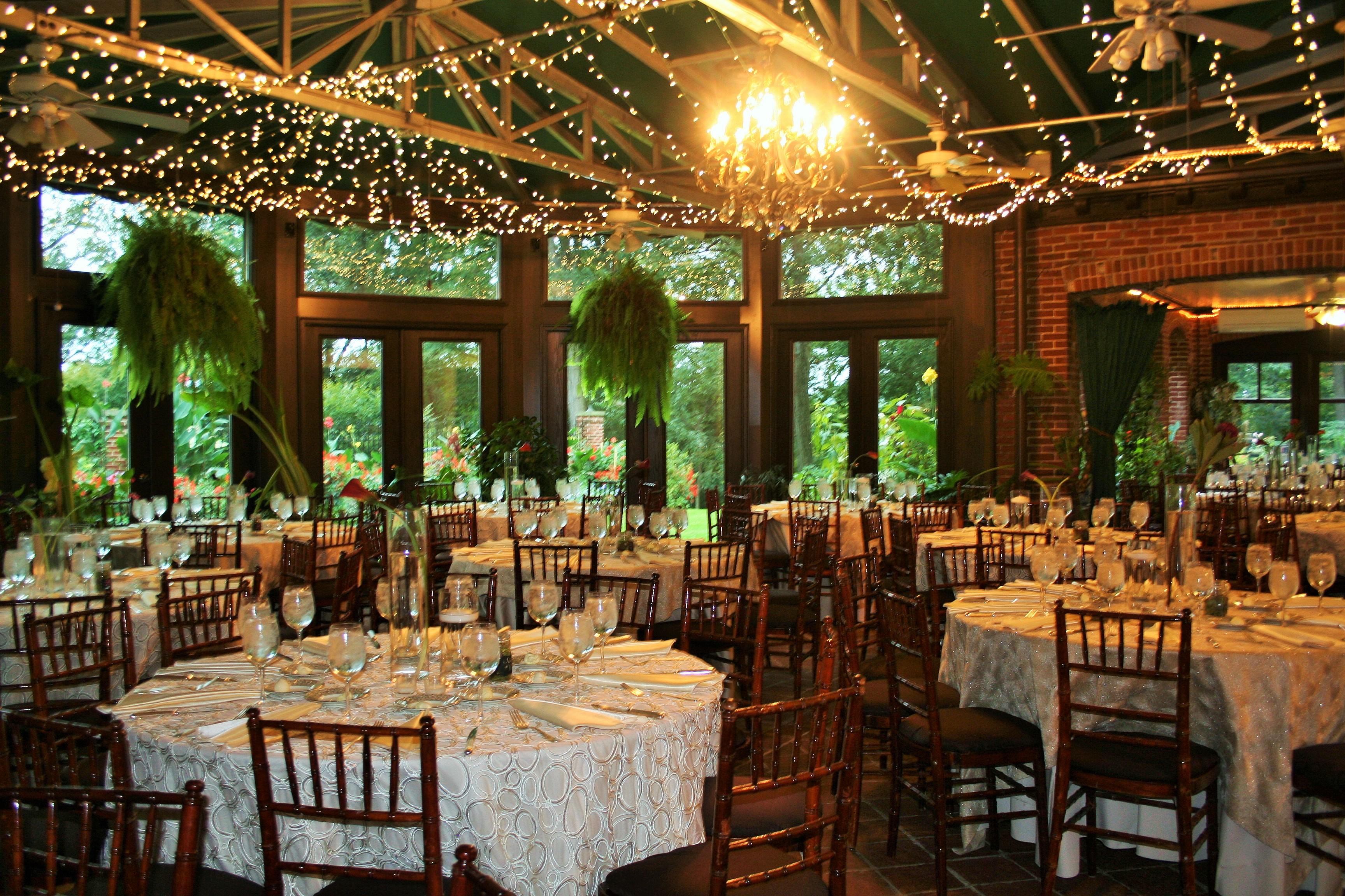 Atrium Reception Simple Elegance