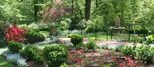 Garden path at Gramercy Mansion