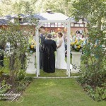 Carriage House garden wedding, Artful Weddings by Sachs Photography