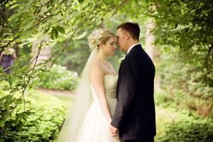 Couple in the garden, Kathleen Hertel Photography