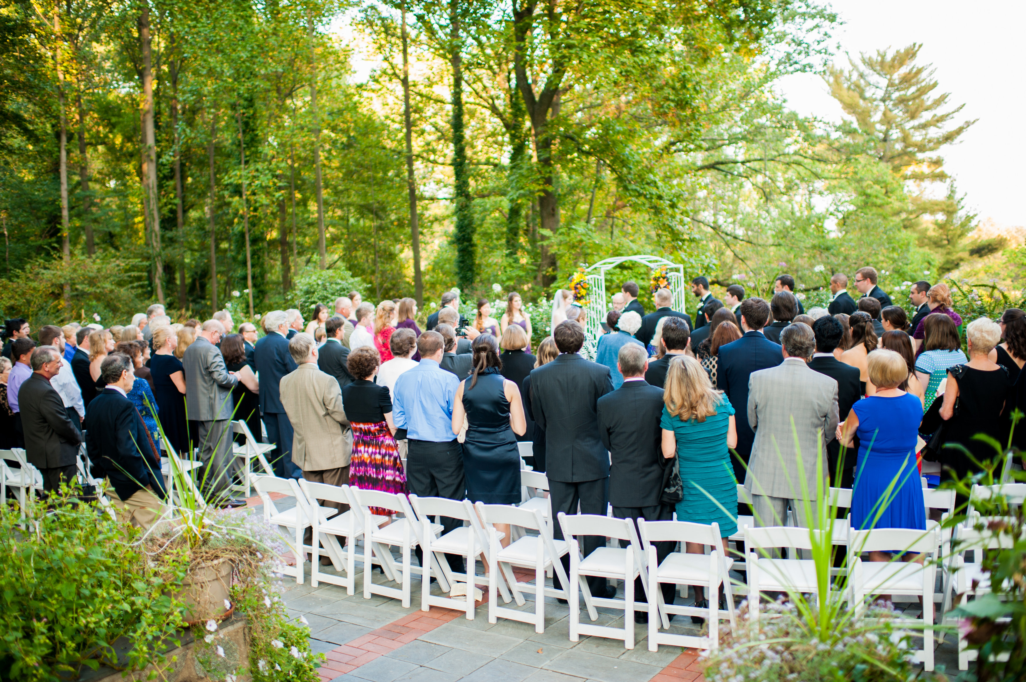 Wedding Ceremony Gramercy Mansion
