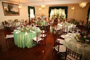 Wedding shower luncheon in Carriage Room