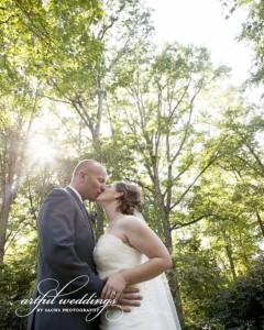 wedding couple artful weddings by Sachs