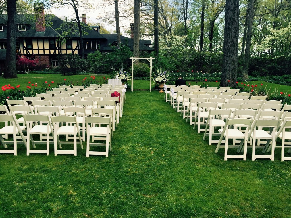 Spring Garden Wedding Ceremony