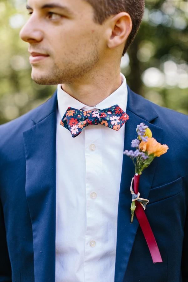 bowtie for wedding, photo by Brandilynn Aines