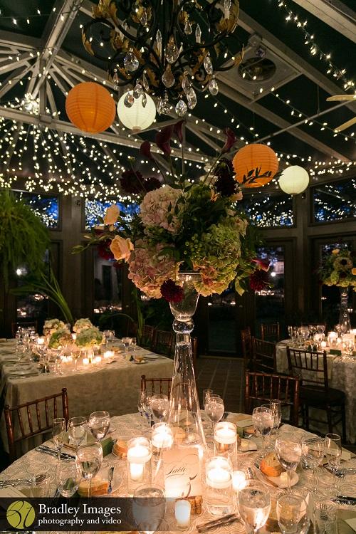 Fall Wedding Ideas Candlelight