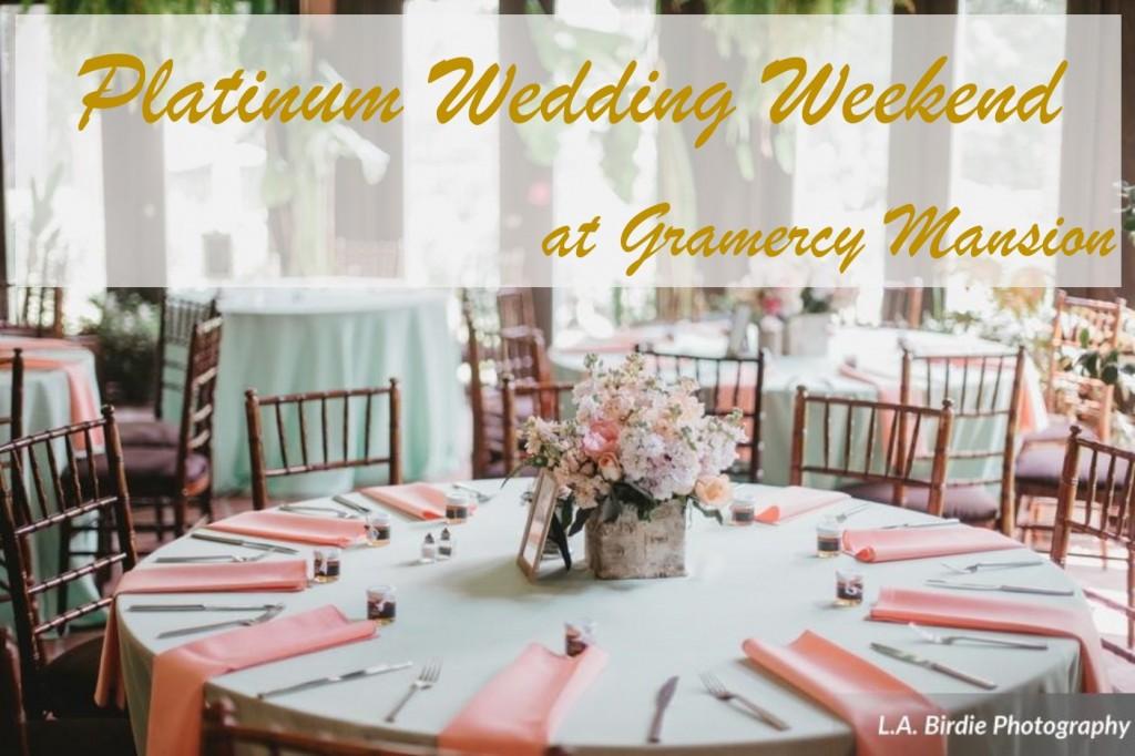 Platinum wedding weekend package