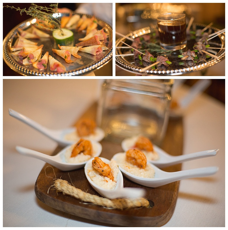 wedding catering Sascha's appetizers
