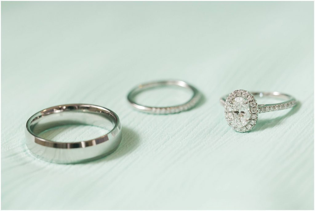 wedding rings | Gramercy Mansion wedding | Baltimore, MD wedding venue