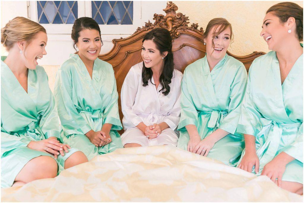 Bridal party | Blue Garden Suite | Gramercy Mansion
