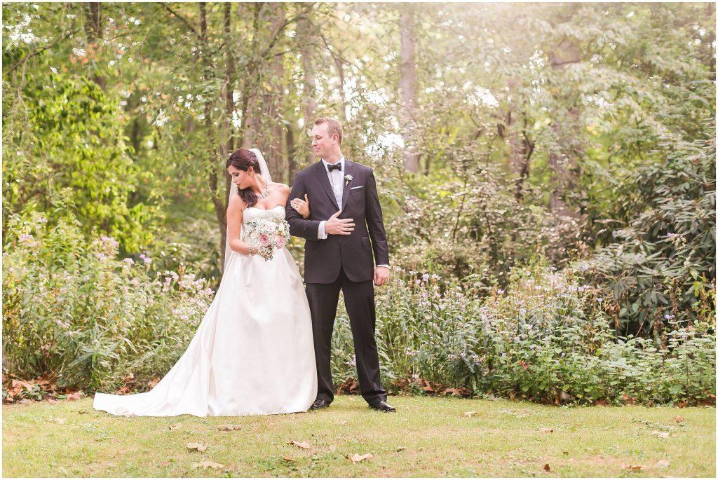 Valore and Kyle summer garden wedding | Gramercy Mansion | Heather Chipp Photography