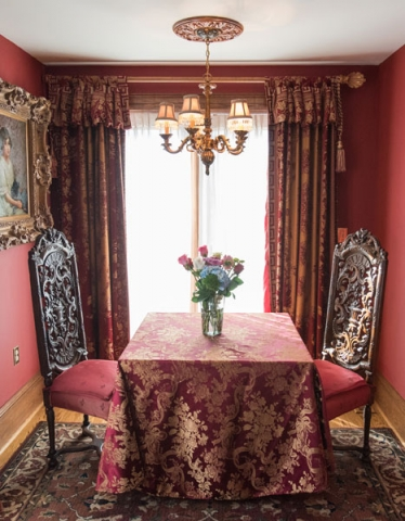 Tudor Room at Gramercy Mansion Bed & Breakfast