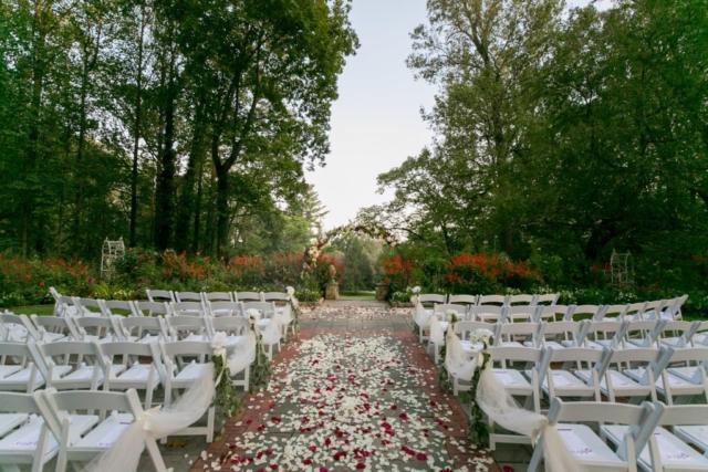 Gramercy Mansion Ceremony Gardens