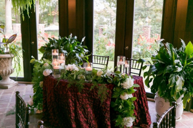 Gramercy Mansion Sweetheart Table