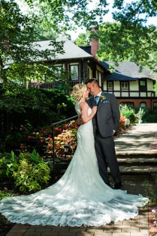Gramercy Mansion Wedding Couple